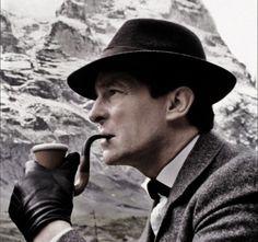Jeremy Brett as Sherlock Holmes (1984 tv series).