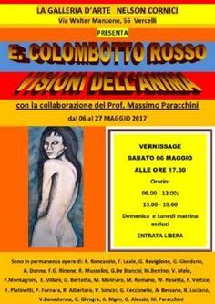 Vercelli. Massimo Paracchini e la Galleria Nelson Cornici presentano la mostra di E. Colombotto Rosso