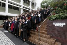 Hundreds of staff and students of the University of Hong Kong stage a silent protest against the university's governing council, which thwarted the appointment of the former law school dean as a university pro-vice-chancellor, inside their campus in Hong Kong, China October 6, 2015. About 1,000 students and staff at the University of Hong Kong (HKU) held a silent protest on Tuesday against what they say is Beijing's interference in academic freedom. REUTERS/Bobby Yip