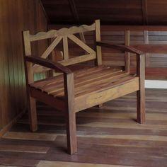 CD04a-cadeira madeira peroba rosa de demolição bela rustica belarustica