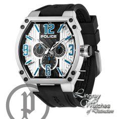police mens black rubber strap raptor watch 13093js 02 online police black rubber strap cobra watch