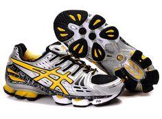 sports shoes 4355b 9d604 Men s ASICS GEL-KINSEI 2 (Grey  Yellow  Black)  onitsukatiger Asics