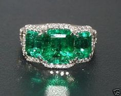 Emeralds how I love thee, let me count the ways...