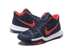 sale retailer fde6f d5d00 Hot Sale Kyrie 3 III Sneakers Midnight Navy University Red Cheap - Click  Image to Close