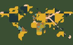 Educational world map wall mural world map wallpaper hd wallpapers best wallpaper gallery with randomly stacked vector stencils creating a world map and hd wallpapers we collected full high quality pictures and wallpapers gumiabroncs Image collections