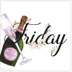#thelustlist #beverages #friday #champagne #laurentperrier