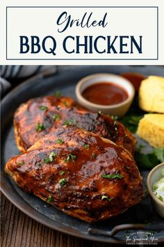 The best summer meal! Whether you're entertaining friends for a cookout or just making a quick weeknight meal, this Grilled BBQ Chicken Breast always wins rave reviews. Season the boneless, skinless chicken breasts with a simple rub, baste them with barbecue sauce, and serve them with pasta salad, mac and cheese or corn on the cob.