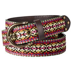 Mossimo Supply Co Belt Multicolored