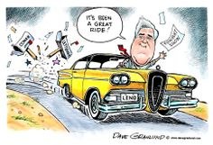 """Dave Granlund on Jay Leno leaving """"The Tonight Show."""""""