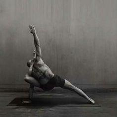 Inspiring yoga asana