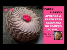 #1 - Bia Souza - Tutorial como fazer almofada capitone modelo pneu - YouTube