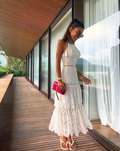 30 Trendy and Girly Outfits for Summer Dress Skirt, Lace Dress, Dress Up, White Dress, White Lace, Casual Dresses, Formal Dresses, Wedding Dresses, Bouquet Wedding