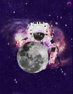 Spaceman by *Amarelle07 on deviantART