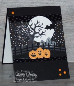 Stampin' Up! Spooky Fun Card