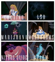 disney characters on drugs :P