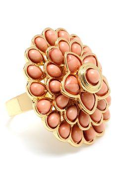 Carnation Ring In Powder Pink
