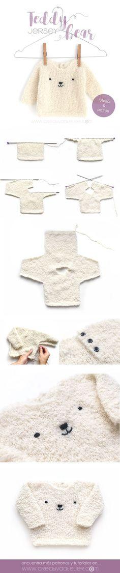 Jersey de bebé de punto – Teddy B