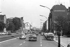 Berlin; Wedding: Müllerstraße vom Rathaus auf Wedding (1972)
