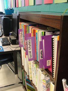 teacher book storage