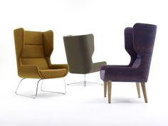 Herman Miller & naughtone Join for Versatile Hush Chair Design Living Furniture, Fine Furniture, Furniture Decor, Furniture Design, Contemporary Chairs, Contemporary Bedroom, Contemporary Office, Commercial Office Furniture, White Dining Chairs