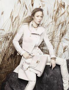 Ferragamo Spring Summer 2012 Ad Campaign Featuring Raquel Zimmermann