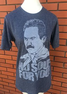 494b405c5487 No Soup For You SEINFELD TSHIRT Size Small  fashion  clothing  shoes   accessories