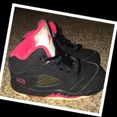 best website f6666 41463 Jordan Shoes   Jordan Shoes Toddler Girl 7c   Color  Black Pink   Size