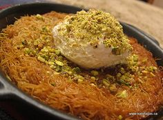 Kunefe- Turkish dessert