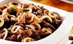 Receita de Picadinho ao molho madeira - Carne - Dificuldade: Fácil - Calorias: 372 por porção
