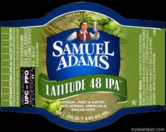 mybeerbuzz.com - Bringing Good Beers & Good People Together...: Samuel Adams Latitude 48 IPA Returns In New Packag...
