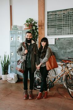 New Darlings in Portland, OR with Bridge & Burn + a PDX Giveaway - Head to blog to see more