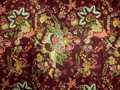 184940dc7149 Nyomott mintás flokon - Blúz selyem | Textiláru, méteráru kis és  nagykereskedés