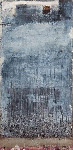"""dailyartjournal:    Natalia Cellini, """"Cose Che Non Ti Riguardano"""", mixed media on canvas"""