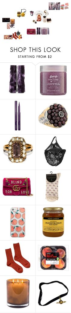 """""""I was music but you had your ears cut off"""" by mymind-is-a-warrior ❤ liked on Polyvore featuring Dries Van Noten, By Terry, Bottega Veneta, Unmarked, GET LOST, Pieces, Gucci, Candie's, Skinnydip and Hansel from Basel"""
