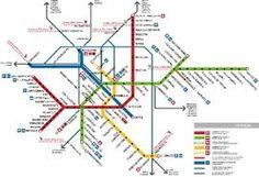 metro map Bielefeld BIELEFELD Pinterest Bielefeld Subway map
