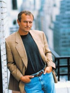 """John Grisham (1955-), Lawyer, former Mississippi State Representative, best-selling author, philanthropist. Best known for his popular legal thrillers (""""The Firm"""" """"The Client"""" """"The Pelican Brief"""" """"A Time To Kill""""). He was the best-selling author of the '90s & as of 2008 he sold 235 million books worldwide. Born in Jonesboro, AR. #Arkansas #writer #lawyer #movie #South #Southern"""