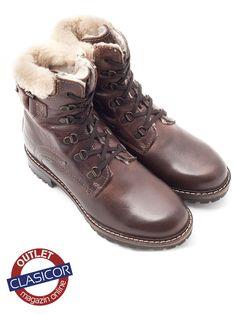 Ghete dama din piele naturala, maro – 200 | Pantofi piele online / outlet incaltaminte piele | Clasicor Dr. Martens, Combat Boots, Shoes, Fashion, Moda, Combat Boot, Zapatos, Shoes Outlet, Fashion Styles