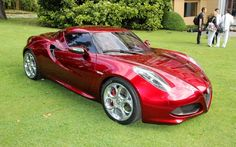 Alfa Romeo 4C 2014, un carro deportivo muy especial