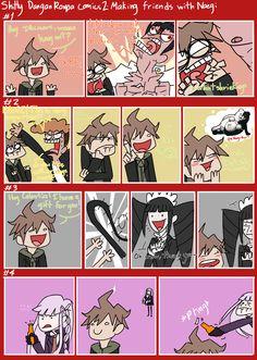 Shitty Dangan Ronpa Comics #2 by Chradi
