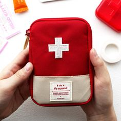 Portable Storage Bag First Aid Emergency Medicine Bag Outdoor Pill Survival Organizer Emergency Kits Package Travel Accessories Features: Color: Blue, Red Size: x Emergency Bag, Emergency Medicine, Medicine Storage, Travel Store, Medical Bag, Travel Accessories, Bag Storage, Small Storage, Storage Boxes