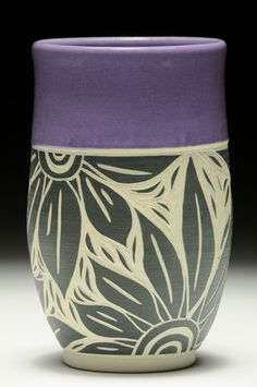 Purple Tumbler Cindy Buehler . . . great design . . . and colour . . .