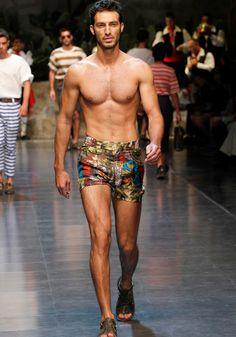 Dolce & Gabbana Collection Men Fashion Show Spring Summer 2013 - Runaway
