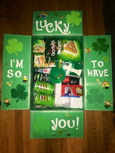 St. Patricks Day Care Package