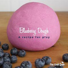 Blueberry Dough – A recipe for play