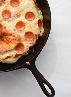 Easy Skillet Pizza ~