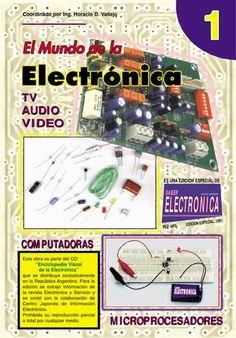 El mundo de la electronica  Es una revista que consta de 24 capitulos en los cuales personas que se interesan en la electrónica puedan desarrollarlo.