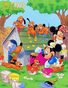 Disney Characters Pictures, Walt Disney Characters, Disney Pictures, Cartoon Characters, Mickey Mouse Cartoon, Mickey Mouse And Friends, Mickey Minnie Mouse, Disney Kiss, Disney Love
