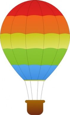 Free Hot Air Balloon Clipart of Hot air balloon basket vector free clipart images image for your personal projects, presentations or web designs. Hot Air Balloon Cartoon, Hot Air Balloon Clipart, Balloon Basket, Art Transportation, School Murals, Free Clipart Images, Vector Free, Air Ballon, Clip Art