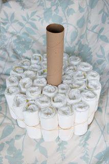Alli Crafts: Craft Tutorial: How to Make a Diaper Cake