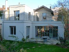 Extension d'une petite maison à Meudon, par LANLO & PARTENAIRES